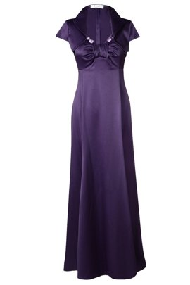 Dress FSU159 DARK PLUM