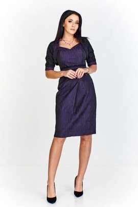 Dress FSU193 DARK PLUM