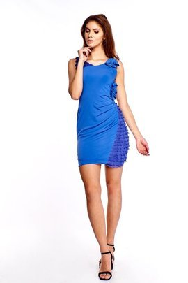Dress FSU230 CORNFLOWER BLUE