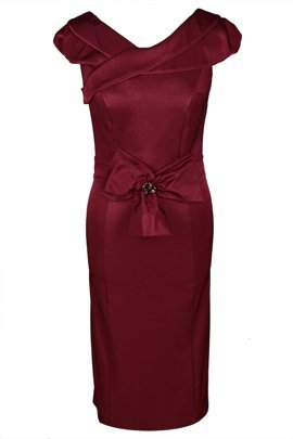 Dress FSU243 MAROON