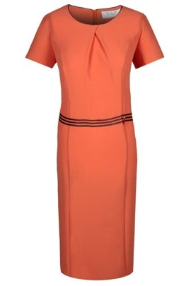 Dress FSU254 LIGHT ORANGE