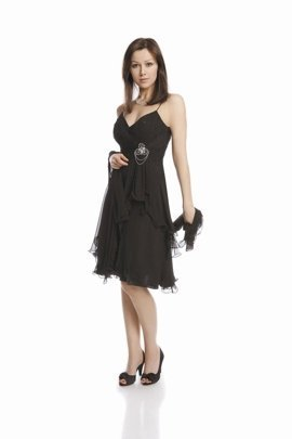 FSU703 Dress BLACK