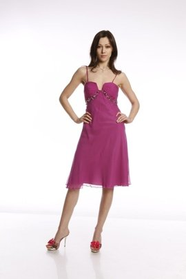 FSU711 Dress DARK AMARANTH