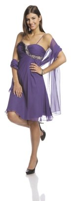 FSU723 Dress PURPLE