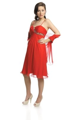 FSU723 Dress RED