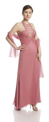 FSU728 Dress PALE PINK