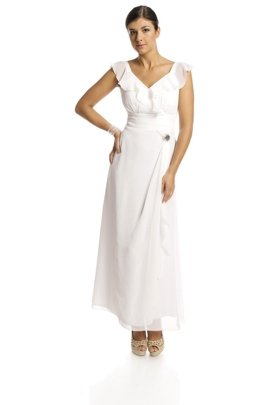 FSU734 Dress WHITE