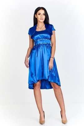 FSU735 Dress CORNFLOWER BLUE