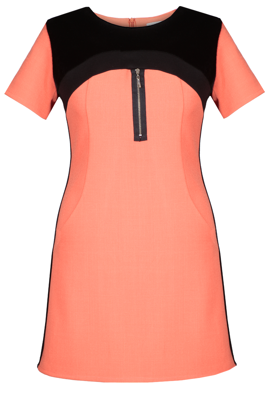Tunic FTU286 ORANGE BLACK
