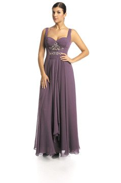 FSU702 Dress PLUM
