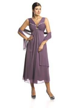FSU709 Dress PLUM