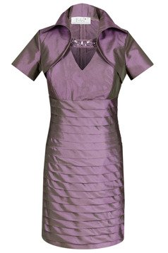 FSU740 Dress VIOLET-GREEN