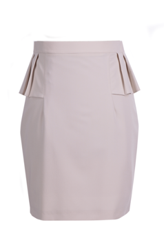 Skirt FSP389 BRIGHT BEIGE
