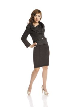 Suit FGA236 BLACK