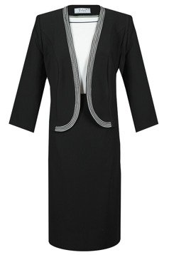 Suit FGA250 BLACK IVORY