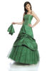 Dress FSU038 GRASS-GREEN