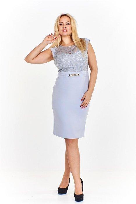 Wybitny Ołówkowa sukienka z wyszywaną górą ozdobioną cekinami i WS38