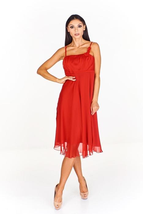 a27766a0 Sukienka FSU256 CZERWONY MOCNY Sukienka FSU256 CZERWONY MOCNY ...