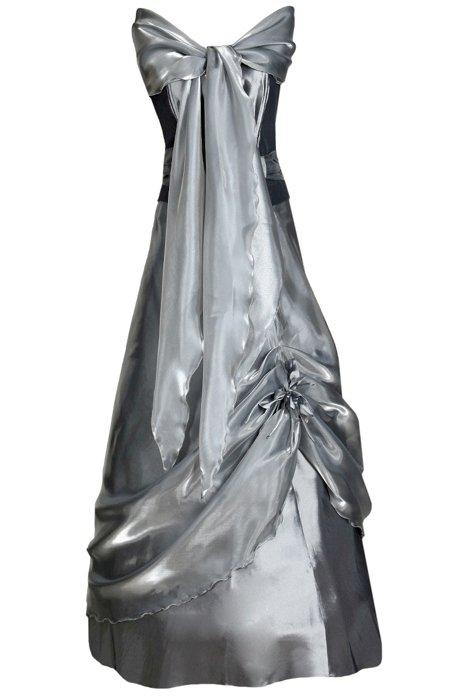 22c8972819 Sukienka FSU034 SZARY CIEMNY Sukienka FSU034 SZARY CIEMNY