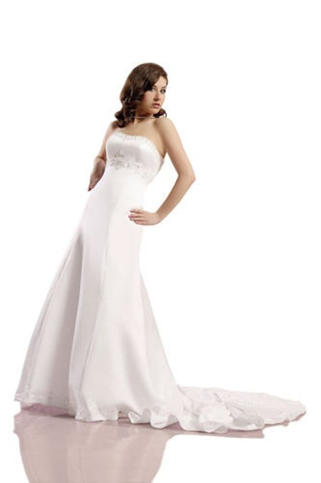 Wedding dress FSS538 WHITE