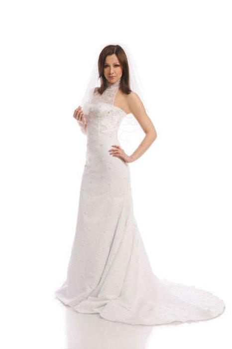 Suknia ślubna Fss530 Biały Fokuspl