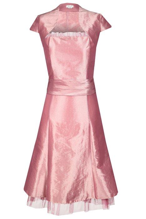 846751148782 Sukienka FSU116 RÓŻ ŚREDNI Sukienka FSU116 RÓŻ ŚREDNI
