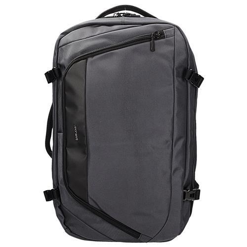 afcd17b004b4c Plecak torba w kolorze szarym jako bagaż podręczny do samolotu DAVID JONES  PC-029