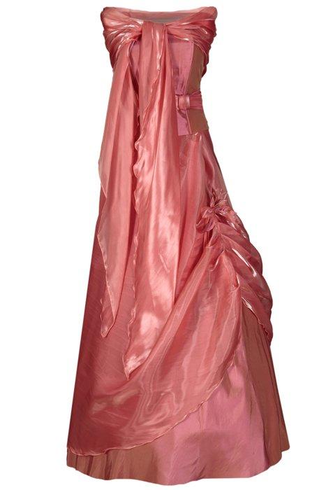 d3cf15ed2d Sukienka FSU034 RÓŻOWY CEGLASTY Sukienka FSU034 RÓŻOWY CEGLASTY ...