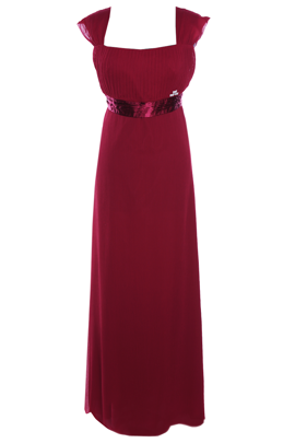 Dress FSU158 DARK RED