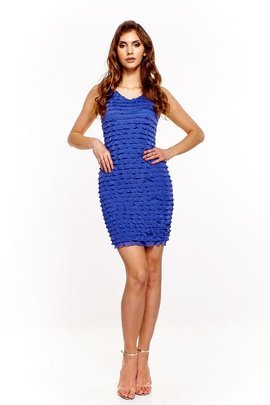Dress FSU194 CORNFLOWER BLUE