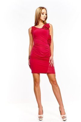 Dress FSU230 LIGHT AMARANTH