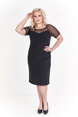 Dress FSU298 BLACK