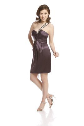 FSU706 Dress DARK PLUM