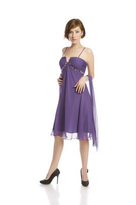 FSU711 Dress DARK VIOLET
