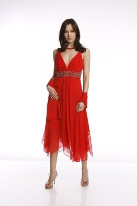FSU712 Dress RED