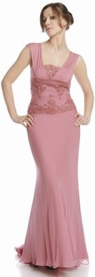 FSU716 Dress PALE PINK