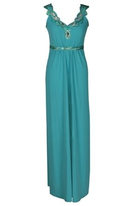 FSU732 Dress DARK TURQUISE