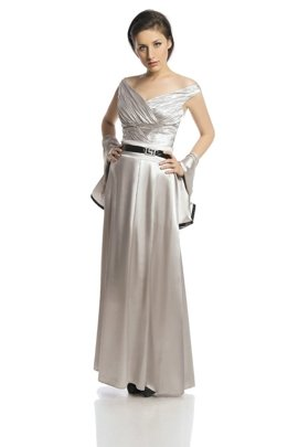 FSU733 Dress PALE GREY