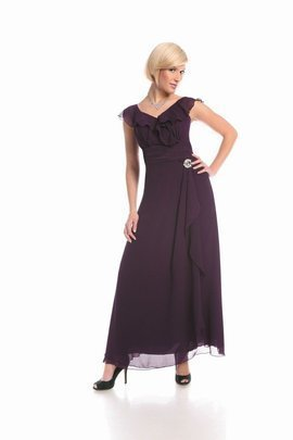 FSU734 Dress DARK PLUM