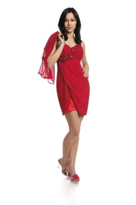 FSU736 Dress RUBY