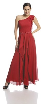 FSU738 Dress SCARLET
