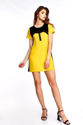Tunic FTU286 DARK YELLOW BLACK