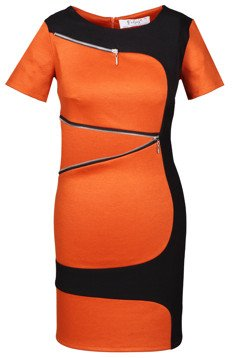 Tunic FTU303 BLACK RUST