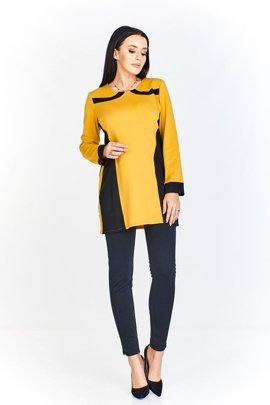 Tunic FTU320 BLACK DARK YELLOW