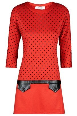 Tunic FTU407 BRICK-RED