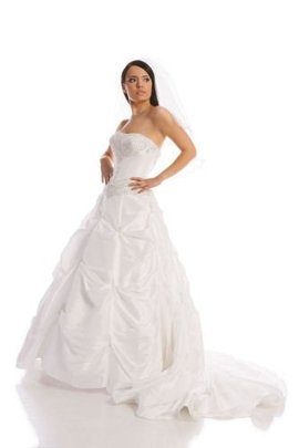 Wedding dress FSS523 WHITE
