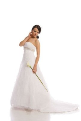 Wedding dress FSS528 WHITE