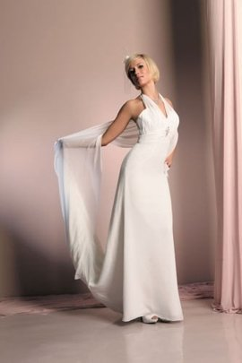 Wedding dress FSS558 WHITE