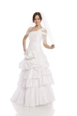 Wedding dress FSS587 WHITE