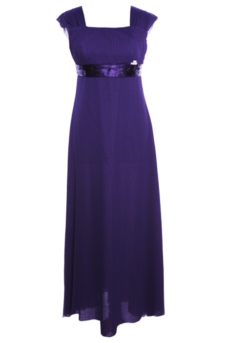 Dress FSU158 DARK PLUM